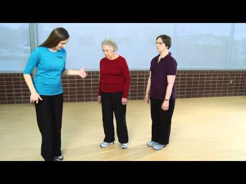 Part 8: Walking on Toes Prevent Senior Falls: Assessment & Balance Exercises