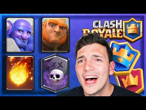 GRAND CHAMPION DECK! 6000 Trophy Push Clash Royale