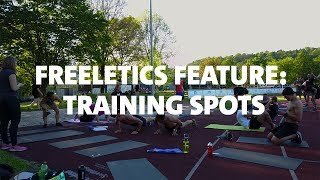 Freeletics Feature: Training Spots