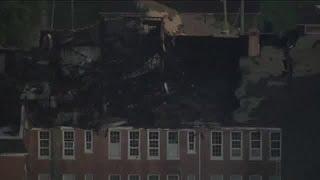 Robert E. Lee Elementary School fire