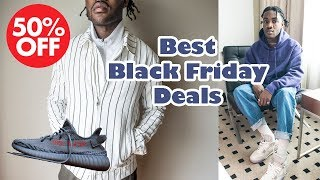 Best Black Friday Deals 2017  sales & Releases  Men's Affordable Streetwear Essentials
