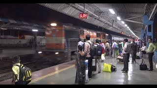 Grand Late Night Train Arrival at Dadar, Mumbai Featuring Crisp & Clear Train Announcements !!!