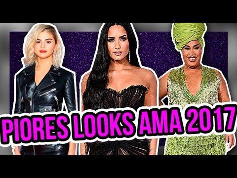 OS PIORES LOOKS DO AMA 2017 | Diva Depressão