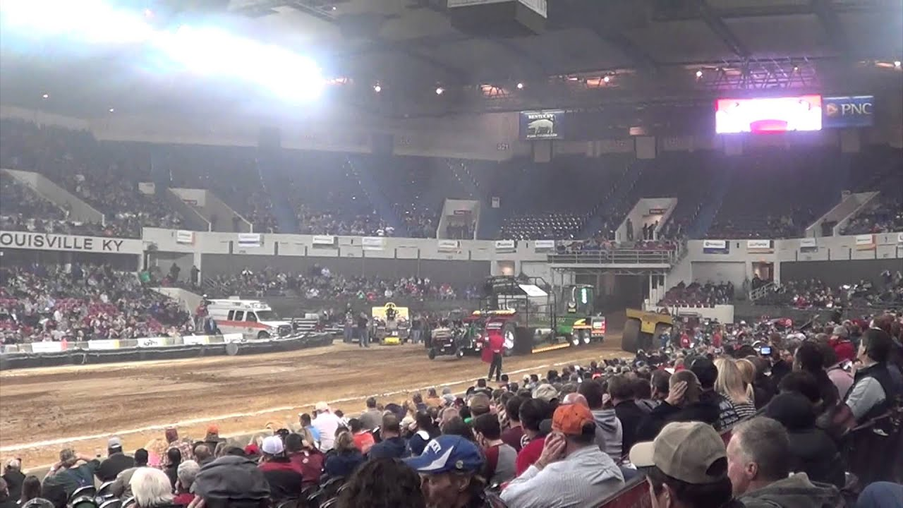 National Farm Machinery Show 2015 Tractor Pull Youtube