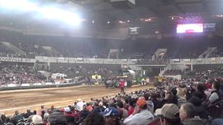 National Farm Machinery Show 2015 Tractor Pull