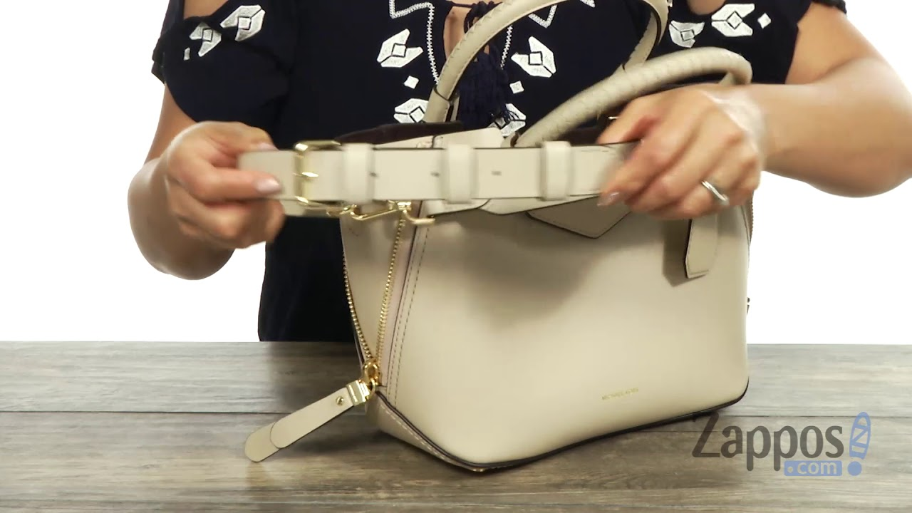 ad3e98f0443c7 MICHAEL Michael Kors Blakely Medium Messenger SKU  9066792 - YouTube