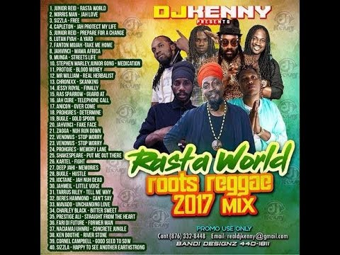 DJ KENNY RASTA WORLD ROOTS REGGAE MIX AUG 2017