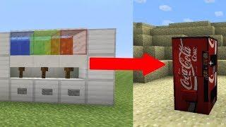 СЕКРЕТНЫЕ ПОСТРОЙКИ Minecraft КОТОРЫЕ ВЫ МОЖЕТЕ ПОСТРОИТЬ ТУТОРИАЛ АВТОМАТ