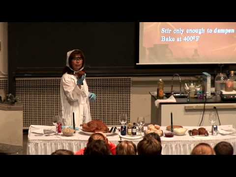 Thanksgiving Chemistry Featuring Diane Bunce - Bytesize Science