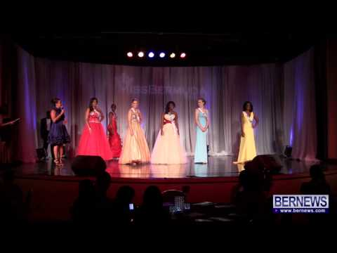 Miss Hamilton Parish Wins Miss Hospitality, June 23 2013