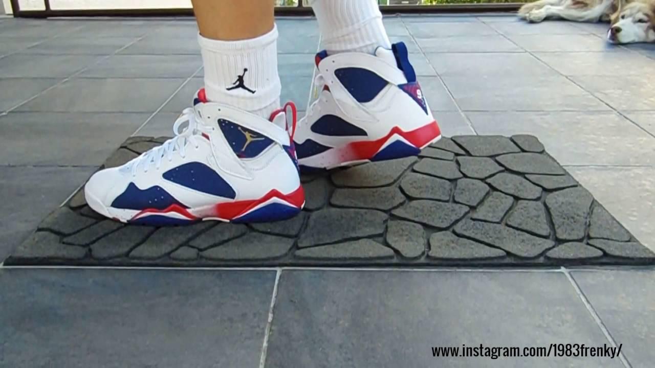 ... Alternate On Feet FrenkySneaks - Air Jordan 7 retro ... d54e29475
