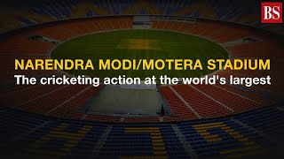 Narendra Modi/Motera stadium: The cricketing action at the world's largest