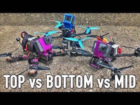 Top VS Bottom VS Mid Mount Battery for FPV Freestyle?