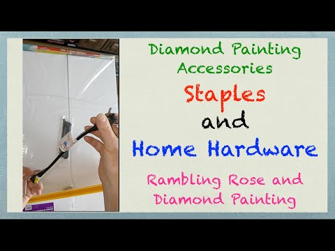 Diamond Painting Accessories From Staples And Home Hardware