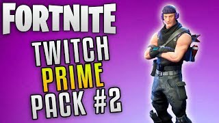 "Fortnite Battle Royale New Twitch Prime Pack ""Fortnite Twitch Prime Skins"" Fortnite New Skins"