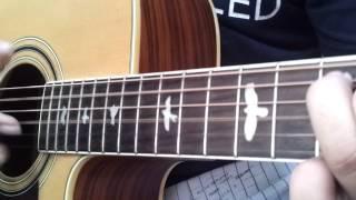 Hà Nội trà đá vỉa hè guitar cover by GBA