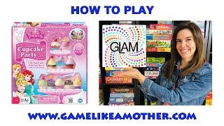 How to Play Disney Princess Enchanted Cupcake Party Game