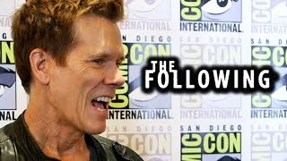 "Kevin Bacon Teases ""The Following"" Season 3 & Joe Carroll Bromance"