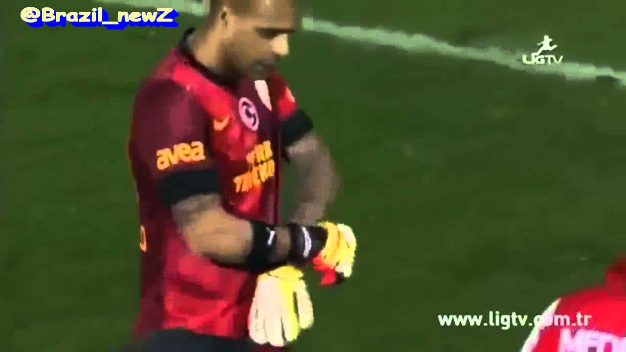 Andriy Shevchenko Naked after red card for goalkeeper, felipe melo takes his place and save the  penalty - #beast