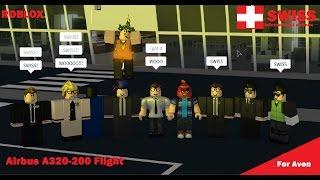 [Roblox Flights] Swiss International airlines Airbus A320 flight