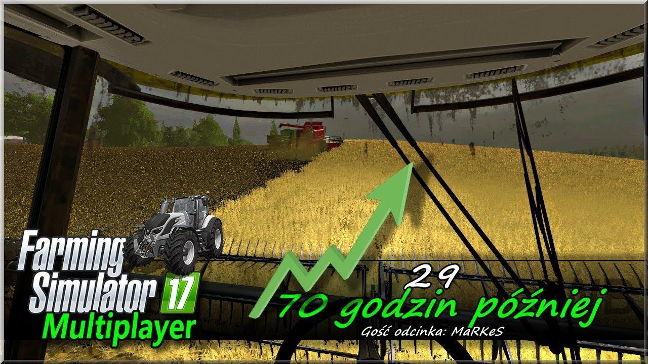"""Farming Simulator 17 – #29 """"70 godzin później"""""""