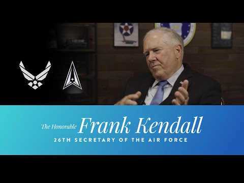 26th SECAF Honorable Frank Kendall First Interview