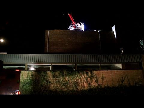 Stormschade in Brabant: Het dak eraf in Beek en Donk