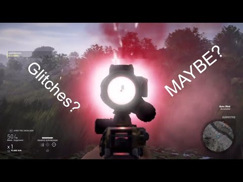 ghost recon wildland gameplay and glitches