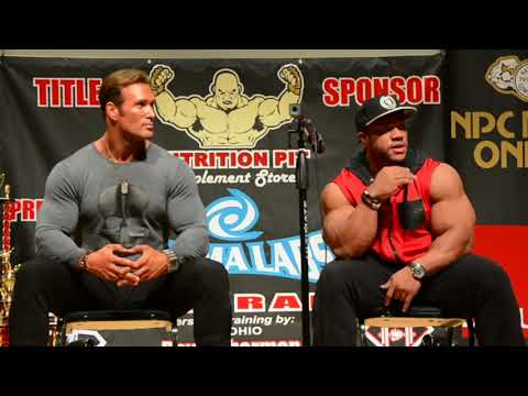 The Titan Mike O'Hearn And 7 Times Mr. Olympia Phil Heath Team Up For An Epic Seminar