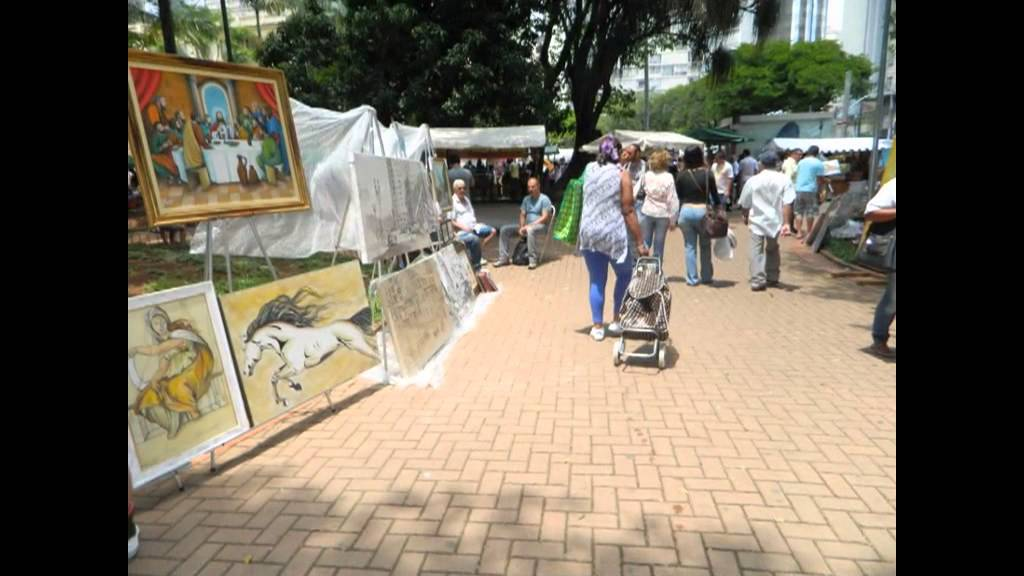 Aparador De Anel Em Ingles ~ Feira de artesanato da praça da República (SP) YouTube