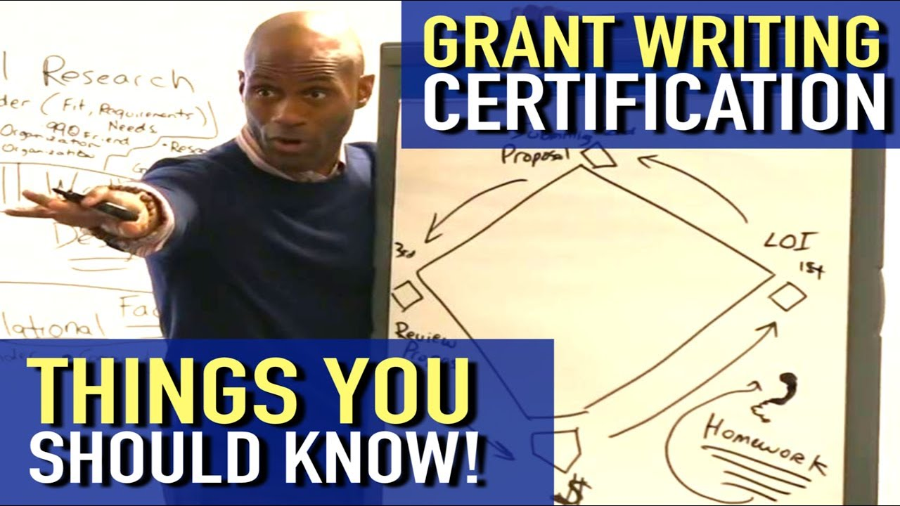 grant mean does writing certification