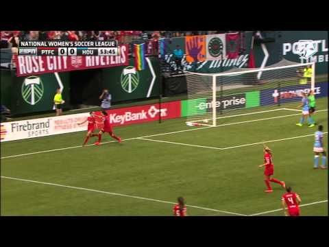 Portland Thorns FC Vs. Houston Dash: Highlights - August 3, 2014
