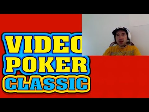 VIDEO POKER CLASSIC FREE | Tapinator | Casino Game / Games | Android / IOS Gameplay Youtube YT Video