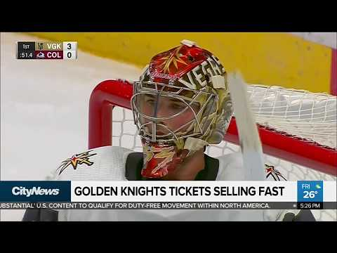 Business Report: Vegas Golden Knights becoming hottest-selling ticket in NHL