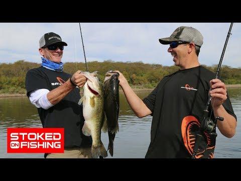Largemouth Bass Fishing At Lake El Salto