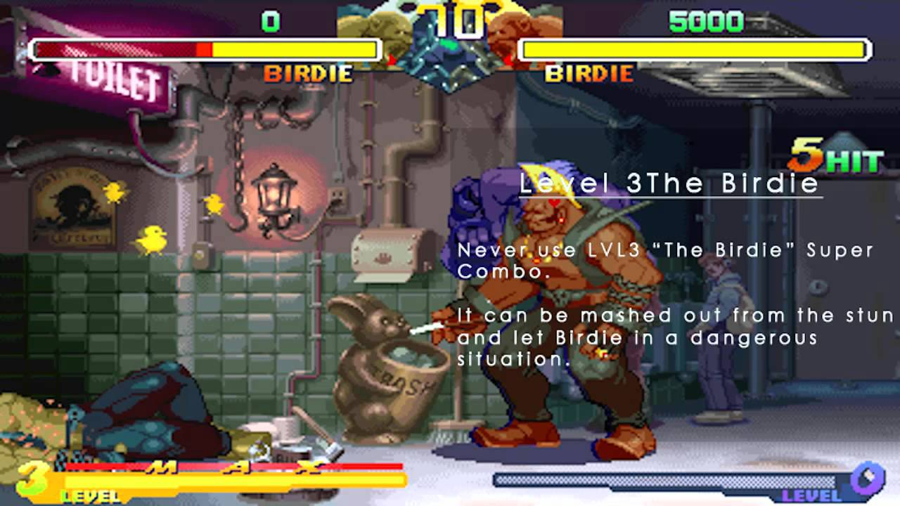 Street Fighter Alpha 2 Combo Review Chapter 05 Birdie