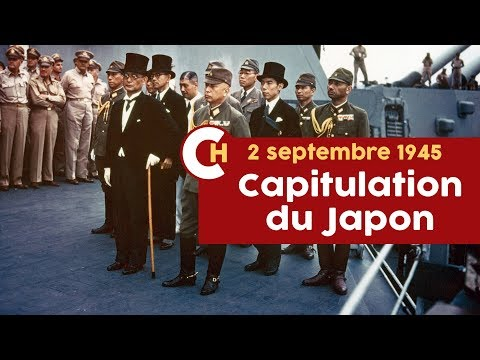 Capitulation du Japon en couleurs