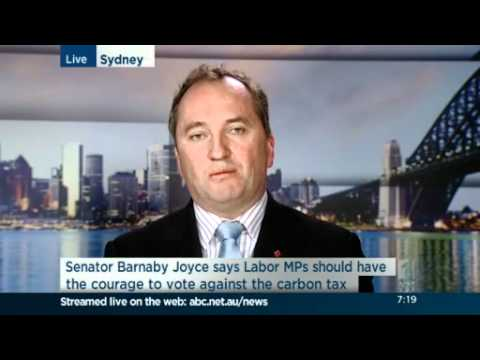 Interview with Barnaby Joyce
