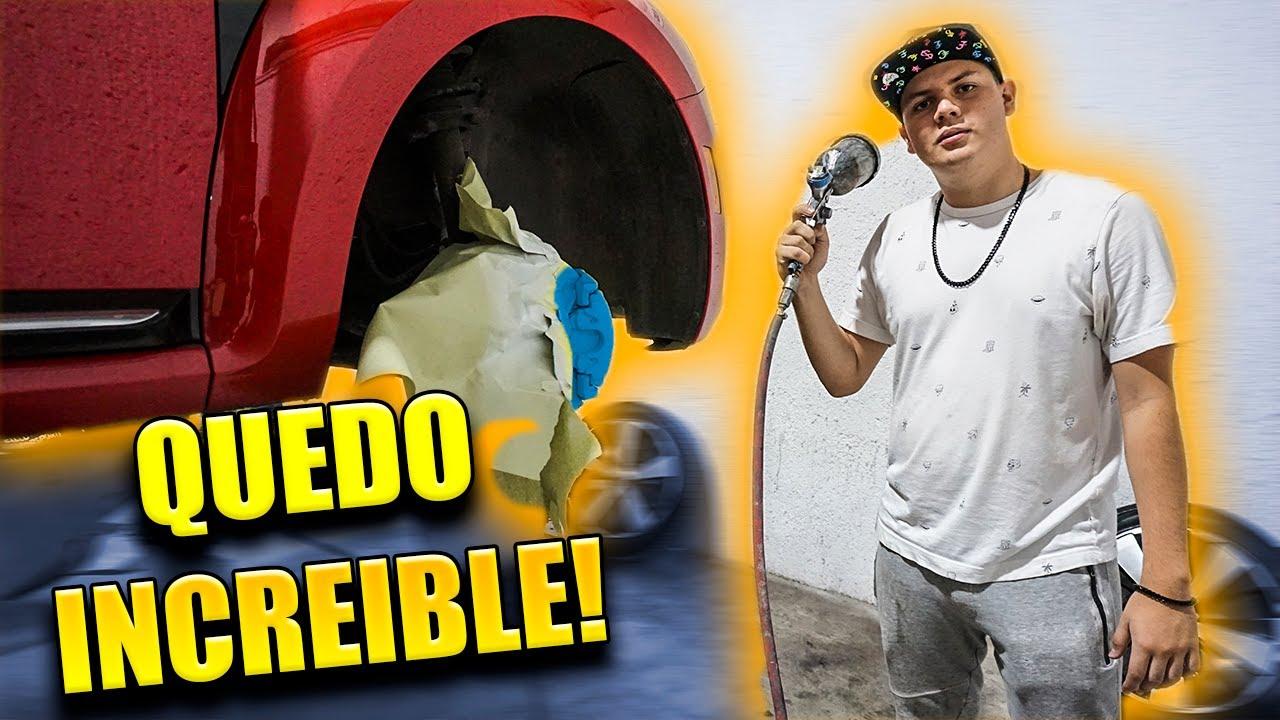 PINTAMOS A LA CATARINA *el beetle mas rápido de mexico* | R DOBLE A