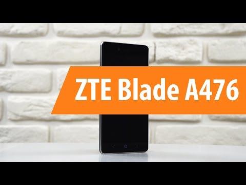 Распаковка ZTE Blade A476 / Unboxing ZTE Blade A476