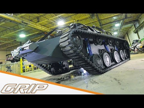 """Fast & Furious 8""-Spezial - Ripsaw - GRIP - Folge 400 - RTL2"