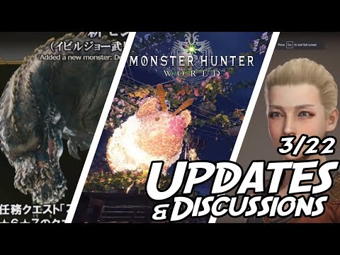 Monster Hunter World: New Update News and Discussion (Deviljho) w/Ehn Jolly