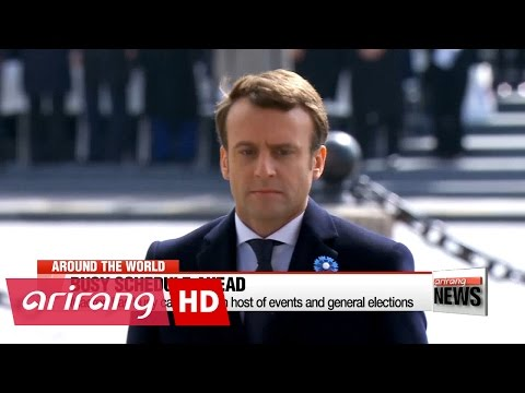 Macron takes first steps as France's president-elect