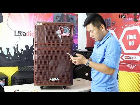 Siêu Phẩm Âm Thanh hát KARAOKR Loa kéo MBA DSP-17