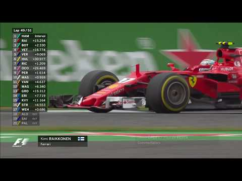 Ferrari's Crazy Finale | 2017 British Grand Prix
