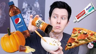 Trying Pumpkin Spice On Every Food!