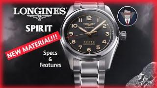 The Longines Spirit Titanium Collection Specs  Features by Samy shorts longines longinestitanium