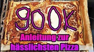 900.000 Abonnenten Pizza !!!!! + Ernährungstipps zum Abnehmen