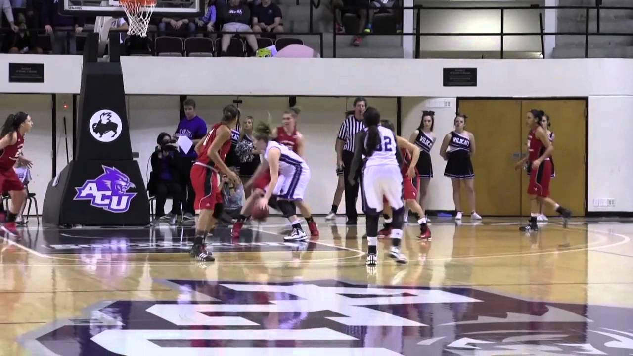 ACU Women's Basketball | ACU 79, EWU 72 - YouTube