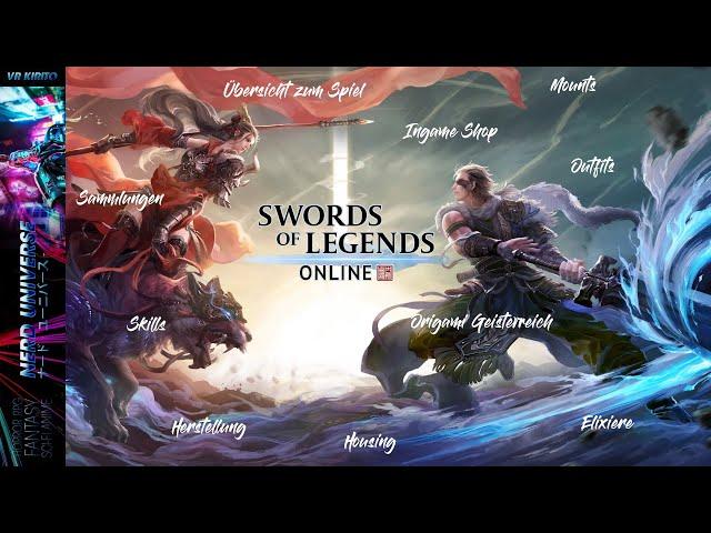 Swords Of Legends Online | Mounts - Ingame Shop - Housing -  Skills - Origami - u.v.m ☬ Deutsch [PC]